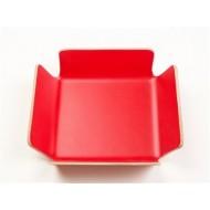 Broodmand rood 29x29x8cm
