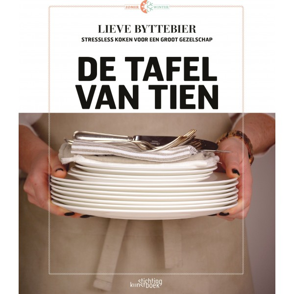 Kookboek 'De tafel van tien' NL