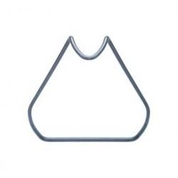 PHIL tablet-/kookboekhouder poederlak donkerblauw