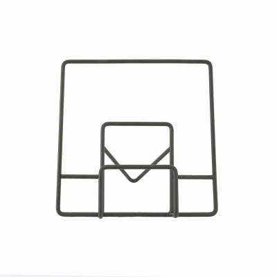 Point-Virgule Wire kookboekstaander zwart 30x16x29.5cm  Point-Virgule