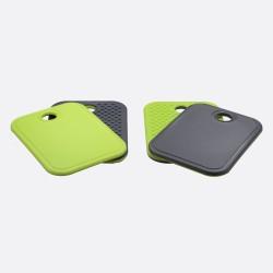 Anti-slip snijplankje grijs en groen