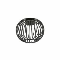 Wire theelichthouder zwart ø 10.5cm