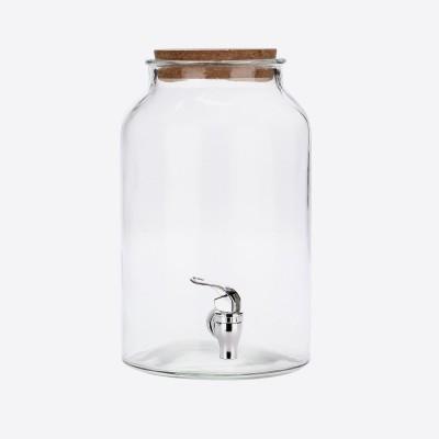 Ronde drankdispenser met kurkdop 5.6L  Point-Virgule