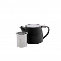 theepot met thee infuser mat zwart