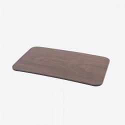 Serveerplank met houtlook bruin en zwart