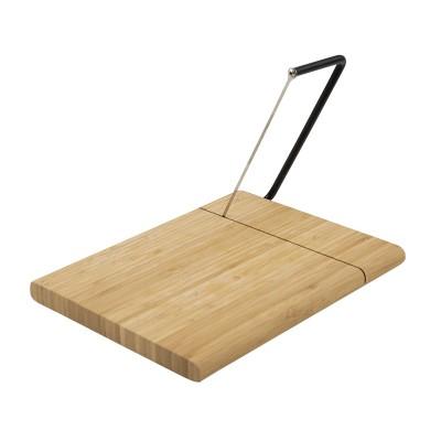 kaassnijder uit bamboe met draad 28,5x23x1,8cm FSC 100% sgsch-coc-041337  Point-Virgule