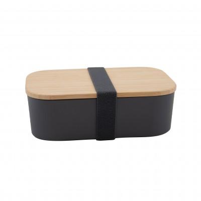 lunchbox uit PLA cementgrijs 19.8x12.5x6.3cm  Point-Virgule