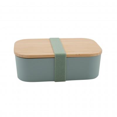 lunchbox uit PLA saliegroen 19.8x12.5x6.3cm  Point-Virgule