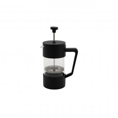 French press cafetière uit glas zwart 350ml  Point-Virgule