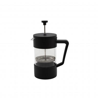 French press cafetière uit glas zwart 600ml  Point-Virgule