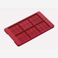 Flexiform chocoladevorm Ruby voor 6 stuks 12x20.5cm
