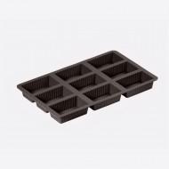 Flexiform bakvorm voor 9 brownies van 4.5x8cm