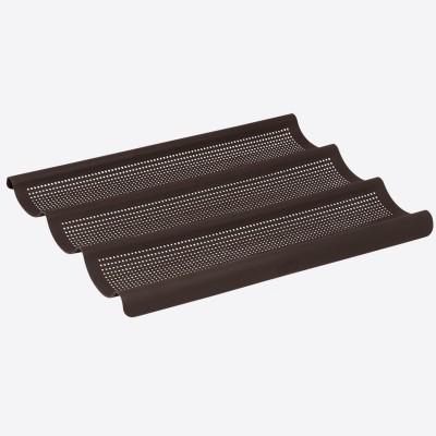 Flexiform bakvorm uit silicone voor stokbrood 3 stuks 36x28.5cm