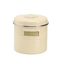 Vintage koektrommel vanille ø 19.5cm