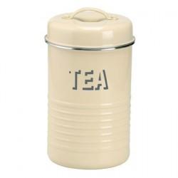Vintage voorraaddoos thee vanille