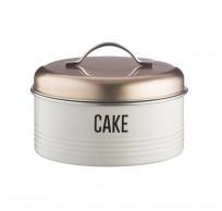 Vintage Copper voorraaddoos Cake