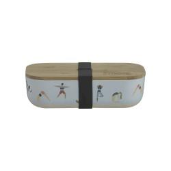 Pure lunchbox uit bamboevezel Active 22x11x6cm  Typhoon