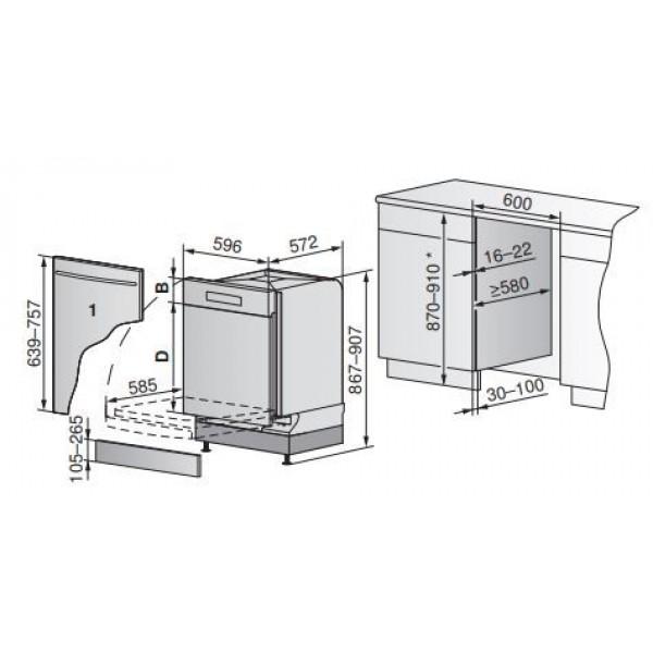AdoraDish V6000 Pompe à chaleur