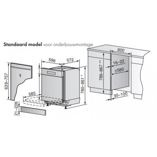 AdoraDish V6000 - Standard