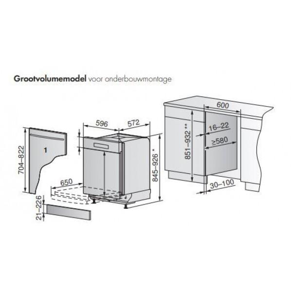 AdoraDish V6000 - Grand volume