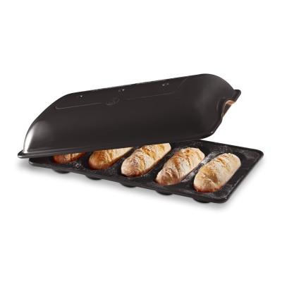 Baguettesvorm mini 390x230mm Fusain  Emile Henry