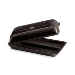 Ciabatta vorm 390x230mm Fusain  Emile Henry