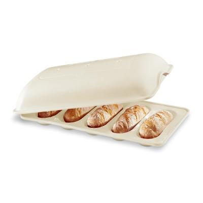 Baguettesvorm 390x240mm Lin  Emile Henry