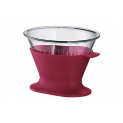 COFFEE FILTER 2 TASSEN ROBIJN ROOD