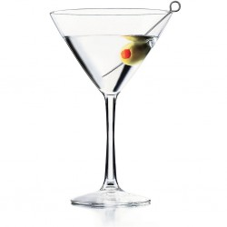 4 Martini Cocktailglazen 26cl
