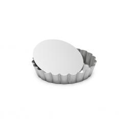 Silver-Top Taartvorm m/losse bodem gekarteld Ø10cm Patisse