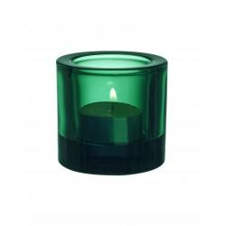 Kivi  teal.candleh. 60mm emerald