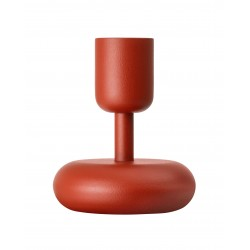 Nappula candle holder 107mm kyoto red