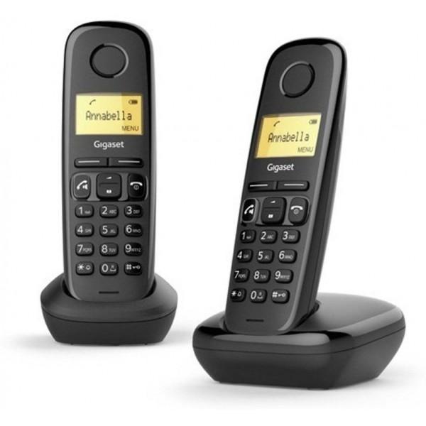 Gigaset Draagbare telefoon (DECT) A270 Duo Zwart