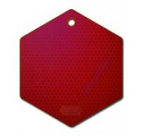 Silicone Onderzetter Rood 21x19cm