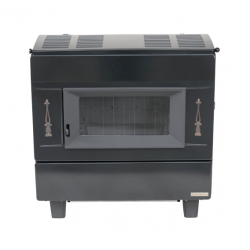 Classique III zwart/noir - 8,9kW  Franco Belge