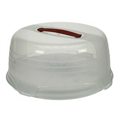 CHEF@HOME TAARTDOOS WIT ROND D27,5CM  Curver