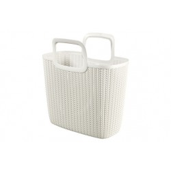 KNIT LILY SHOPPING BAG OASIS WHITE