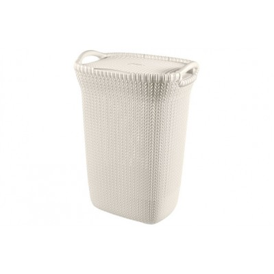 KNIT WASBOX 57L OASIS WHITE  Curver