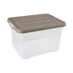 HANDY BOX 20L 40X29X25CM TAUPE-TRANSPAR  Curver