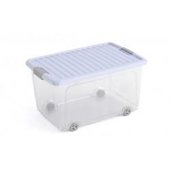 W-BOX OPBERGBOX L BLAUW DEKSEL 56.5X39X