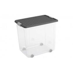 W-BOX OPBERGBOX XL GRIJS DEKSEL