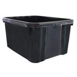 HANDY BOX ZWART 25L 50X34,5XH25,5CM