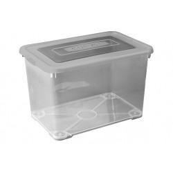 HANDY BOX 65L 60X40XH38,8CM SMOKEY GRUS