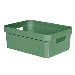 INFINITY RECYCLED BOX 11L GROEN  Curver