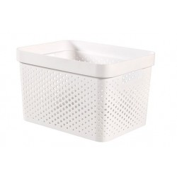 INFINITY RECYCLED BOX 17L WIT 35,6X26,6  Curver