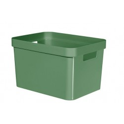 INFINITY RECYCLED BOX 17L GROEN  Curver