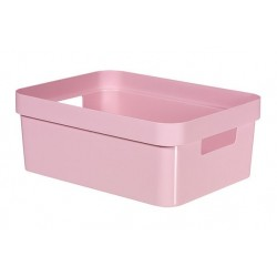 INFINITY RECYCLED BOX 11L ROZE  Curver