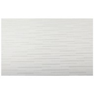 PLACEMAT PVC GEWEVEN 45X30CM WHITE
