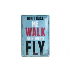 OPHANGBORD METAAL DONT MAKE ME WALK  Cosy & Trendy
