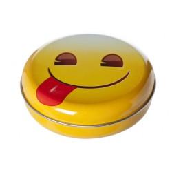 SNOEPDOOSJE SMILEYS D12XH3.5CM  Cosy & Trendy